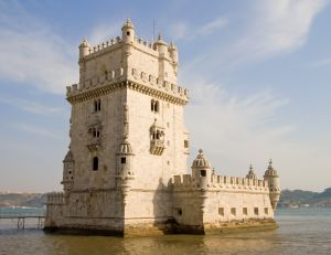 Slavný maják Torre de Belém