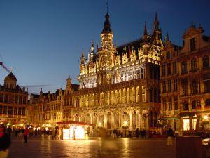 Náměstí Grand Place v Bruselu