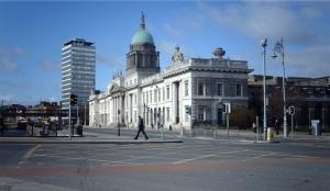 Custom house (celnice) v centru Dublinu