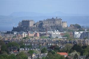 Královský hrad v Edinburghu, Skotsko
