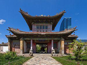 Klášter Choijin lama v Ulánbátaru