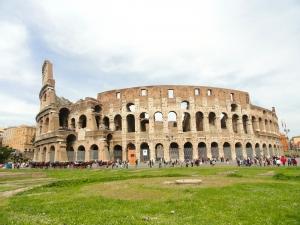 Antické Koloseum v Římě