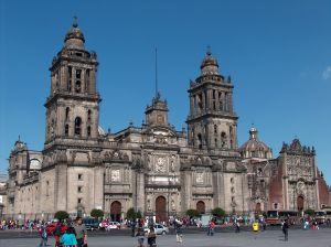 Městská katedrála v Ciudad de México
