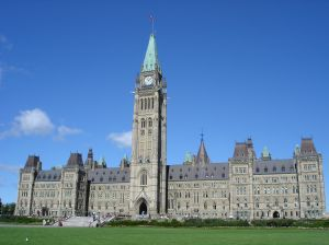 Kanadský parlament v Ottawě