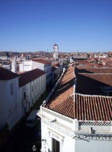 Hlavní město Bolívie Sucre