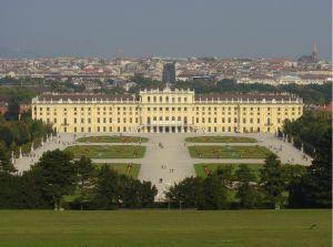 Zámek Schonbrunn ve Vídni